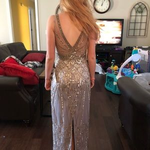 Sue Wong Full Length Evening Gown